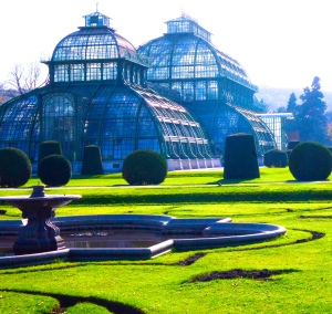 The palm house, Schonbrunn Palace, Vienna