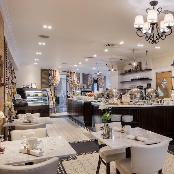 Enjoy breakfast at Left Bank Cafe, Sofitel Queenstown Hotel & Spa