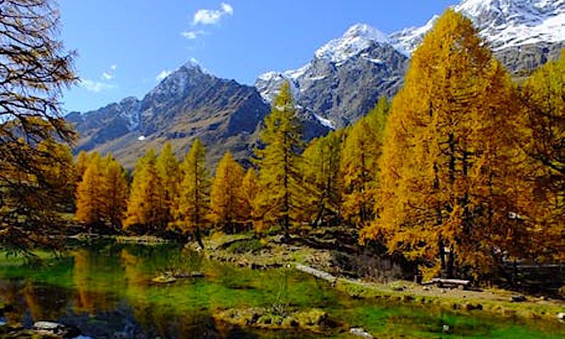 An alpine destination