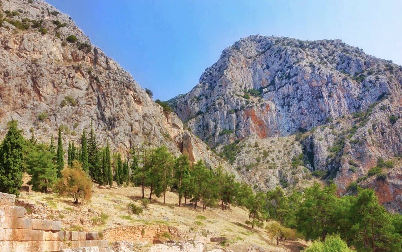 What is Parnassus Myths and interesting places of the sacred mountain in Greece 66